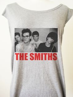 Retro The Smiths Punk Rock T-Shirt Tee Tank Top Tunic Vintage Look One Size. $8.00, via Etsy.