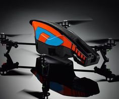 The Parrot #AR #Drone is the first quadricopter that can be controlled by a smartphone or tablet.""