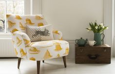 win a Peggy chair in Thornback & Peel worth over £500