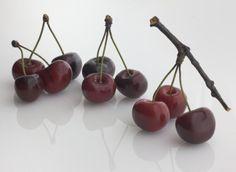 Ceramic Cherries -Dark Red Double | Product Range | Penkridge Ceramics