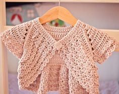 Crochet dress PATTERN   Crochet Tiered Dress baby toddler