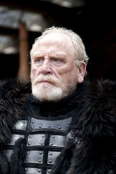 """Jeor Mormont is a major character in the second and third seasons. He initially appeared as a recurring character in the first season and debuted in """"Lord Snow."""" He is played by starring cast member James Cosmo. Jeor Mormont is the Lord Commander of the Night's Watch, and is the father of the exiled knight Jorah Mormont. He leads a great expedition ranging north of the Wall to investigate rumors of Free Folk amassing and White Walkers being sighted. He is killed at Craster's Keep by his…"""