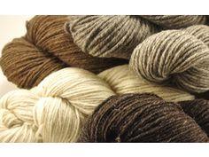 yarn from Jacob sheep