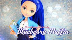 Custom Doll: Strawberry Shortcake Blueberry Muffin - Doll Crafts