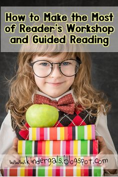 How to make the most out of Reading Workshop and Guiding Reading. Guided Reading, Reader's Workshop and Building Stamina? How does it all fit in? Perfect for kindergarten readers!
