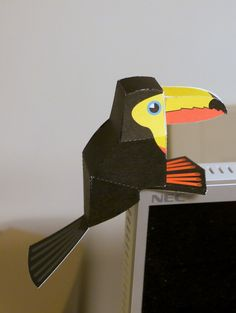 """not only is this the cutest ever, but it reminds me of """"toucan toucan't,"""" currently one of little lion man's faves."""