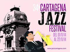Estos días estamos disfrutando de espectaculares actuaciones en Cartagena Jazz Festival. Consulta nuestra #agenda para saber el programa del festival y otros muchos #conciertos aquí => http://www.murciaturistica.es/es/agenda/?buscar=si&tipo=CONCIERTOS&fecha_desde=&fecha_hasta=&busqueda=todo&utm_source=Pinterest&utm_medium=Redes%20Sociales&utm_campaign=Conciertos%20y%20Jazz%20Cartagena