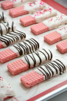 Dipped Wafer Cookies - Buggy and Buddy - . - Chocolate Dipped Wafer Cookies – Buggy and Buddy – Wafers cookies -Chocolate Dipped Wafer Cookies - Buggy and Buddy - . - Chocolate Dipped Wafer Cookies – Buggy and Buddy – Wafers cookies - . Valentines Day Desserts, Valentine Treats, Holiday Treats, Kids Valentines, Holiday Desserts, Valentine Cupcakes, Saint Valentine, Chocolate Covered Treats, Chocolate Cookies