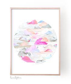 Limited Edition Print // CLOUDLAND   Laura Blythman