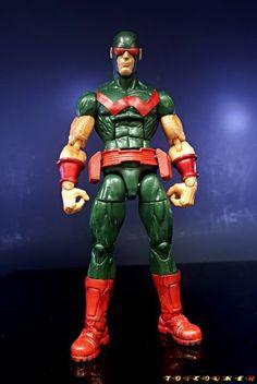 Wonderman (Classic Costume) (Marvel Legends) Custom Action Figure