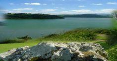 lake amatitlan from mount zion
