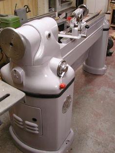 Photo Index - Yates-American Machine Co. Used Woodworking Tools, Woodworking Joints, Woodworking Machinery, Wood Turning Lathe, Wood Turning Projects, Wood Lathe, Antique Tools, Old Tools, Vintage Tools