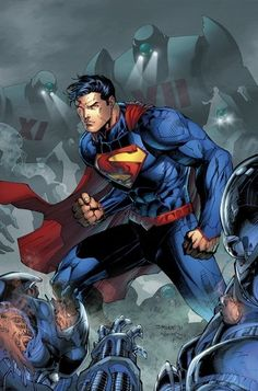Superman's new costume by Jim Lee.