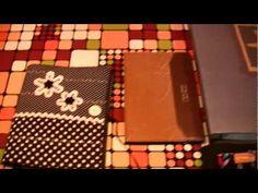 Tutorial funda cuaderno, album fotos ... - YouTube