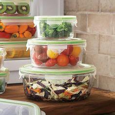 Sur La Table Kinetic Go Green GlassLock Food Storage-Round, Set of 3 on shopstyle.com