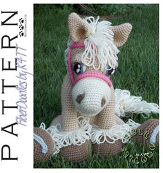 INSTANT DOWNLOAD : Pastiche the Palomino Crochet Pattern by FiberDoodlesbyK4TT on Etsy https://www.etsy.com/dk-en/listing/240841546/instant-download-pastiche-the-palomino