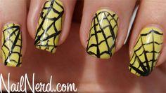 Spiderweb Nails