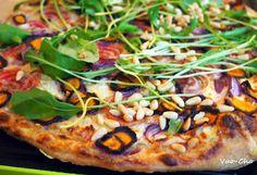 Syksyn hehkuvin pizza