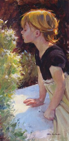 """""""The Smell of Spring"""" by Albin Veselka."""