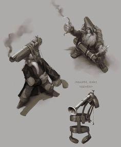 Dwarven Sniper Concept
