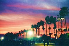 i can only hope this year's coachella sunset is as beautiful! #2012