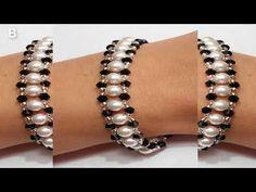 The purpose of wearing a bracelet could vary from embellish Lace Bracelet, Bead Loom Bracelets, Simple Bracelets, Bead Jewellery, Beaded Jewelry, Handmade Jewelry, Jewelry Patterns, Bracelet Patterns, Charms Swarovski