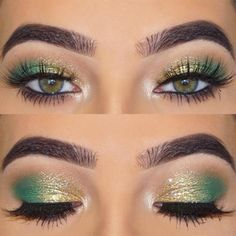 39 eye make-up for prom looks that offer great glamor # bid . - 39 eye make-up for prom looks that offer great glamor - Prom Eye Makeup, Makeup Eye Looks, Makeup For Green Eyes, Eye Makeup Tips, Smokey Eye Makeup, Eyeshadow Looks, Eyeshadow Makeup, Wedding Makeup, Hair Makeup