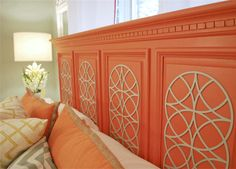 Probably would do a different color...but love this headboard