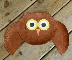 Make owls using paper plates and shapes & 53 Wildly Fun Owl Craft Ideas   Owl paper Paper plate crafts and Owl
