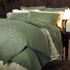 Scroll Jacquard Sateen Duvet Cover from Cuddledown