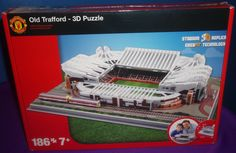 BRAND NEW AND IN STOCK Product Description : Re-create the stadiums of the top 5 teams in the premiership in 3D with these fantastic puzzles. Choose from Man Utd, Chelsea, Arsenal, Man City and Liverpool. A fantastic gift for football mad kids and parents!  Features : Each puzzle has easyfit pieces and measures approximately 12cm x 38.5cm x 30cm Suitable for ages 7+ Brand new in retail packaging Package Contents : 3D Stadium Puzzle