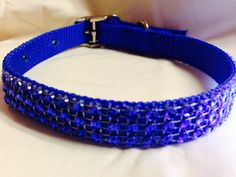 Sparkling Bling Small Dog Collar by DogFabulous on Etsy