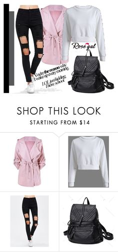"""School look 52"" by merimaa997 ❤ liked on Polyvore featuring casual, backpack, newoutfit, rosegal and fashionyear"