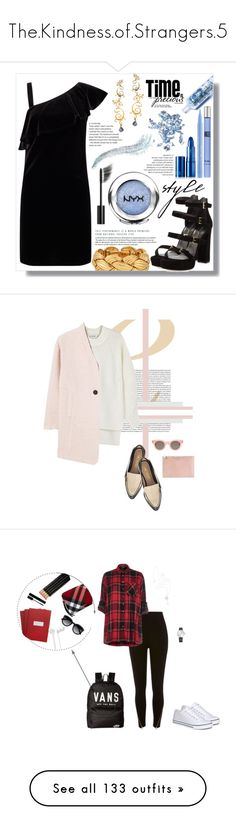 """""""The.Kindness.of.Strangers.5"""" by falconry ❤ liked on Polyvore featuring Stuart Weitzman, Miss Selfridge, Chanel, NYX, Lipstick Queen, Glitter Injections, Thierry Mugler, Stila, Eina Ahluwalia and DKNY"""