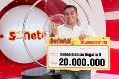 Un número le cambió todo a Ramón que se ganó Gs. 20.000.000 con el #Progresivo sale o sale especial de Reyes