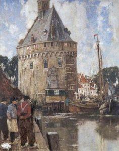 Henri Cassiers - Vue de tour principale à Hoorn