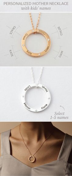 Childrens Names Necklaces • Children's Name Necklace For Mother - Circle of love • Children name rose gold necklace • Mother Daughter Necklaces • Necklace for New Mom • Necklace with Kids' Names • Name jewelry • Actual name necklace • Grandma necklace • Mother Jewelry • Mommy jewelry • birthday gift ideas for mom • gift for grandma from baby • christmas gifts for mother in law presents • easy diy christmas gifts for mom • gifts for nana • kids christmas gifts