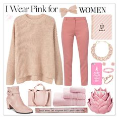 """pink for women"" by perfectlydeathly ❤ liked on Polyvore featuring MANGO, WtR London, Corto Moltedo, Impo, Casetify, Sydney Evan, DIANA BROUSSARD, Palm Beach Jewelry, Ted Baker and Zara Home"