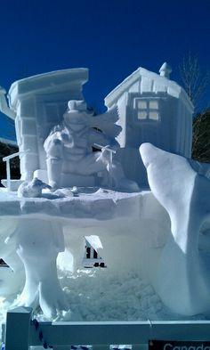 Breckenridge, International Snow Sculpture Festival