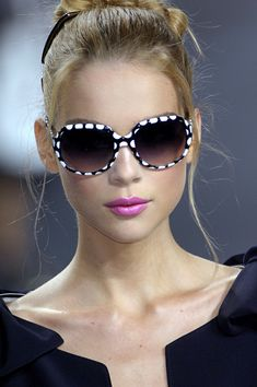 Prada dotted shades |