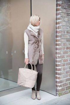 Fabiana Filippi vest, top, and purse + Fabrizio pants