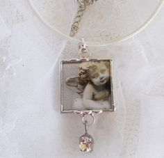 angel pendant - soldered