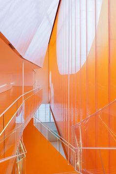 super orange: will it be the red, blue, and gray of the 90's?   ORANGE: El 'B' by Selgascano Arquitectos