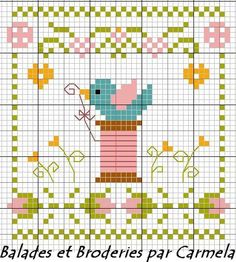 Free cross-stitch chart.