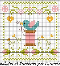 Free cross-stitch chart.
