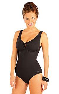 LITEX Jednodílné plavky s kosticemi.