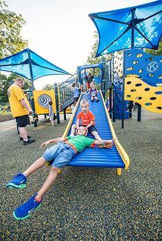 Riverside Park - Inclusive Playground - Kiwanis