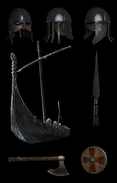 Vikings weaponry and use of armor