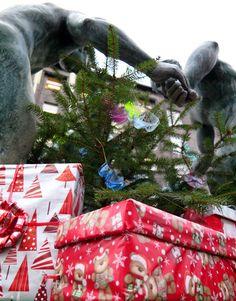Gliwickie Fauny Świątecznie pozdrawiają #gliwice #metamorfaunoza
