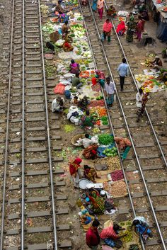 This is a portable vegetable market. When any train comes they just moved from their position. This is the cheapest vegetable market and most of the customers are from the slum nearby. Taken from Tejgaon industrial area, Dhaka, Bangladesh. Rishikesh, Brunei, We Are The World, Wonders Of The World, Varanasi, People Around The World, Around The Worlds, Goa India, Amazing India